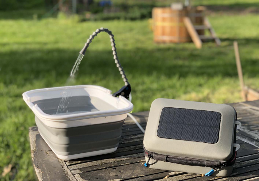 GoSun Launches World's First Portable Solar-Powered Water Purification, Sanitation System